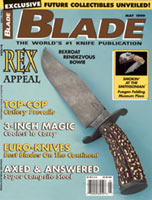 I was really pleased to be put on Blade's cover