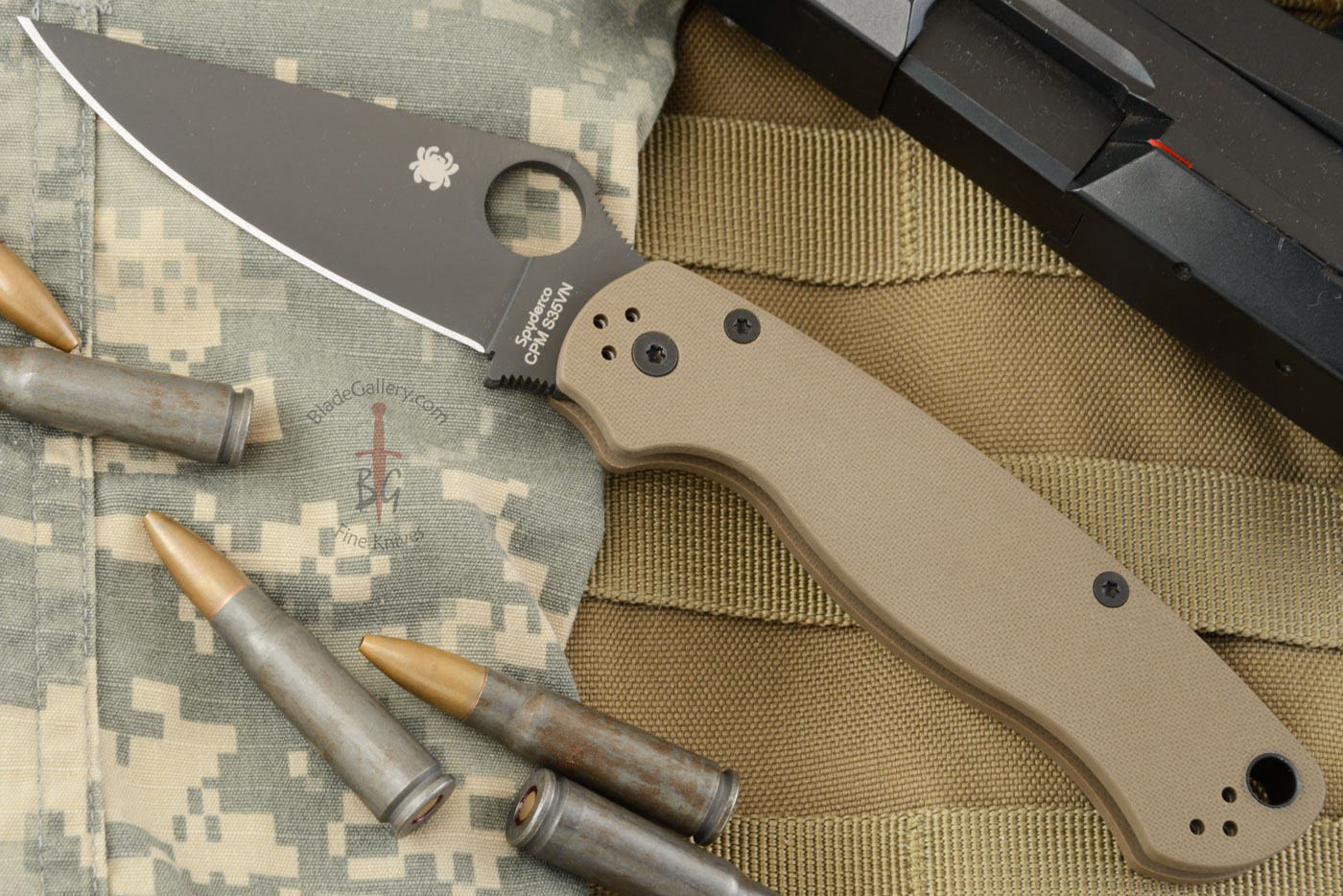 Paramilitary 2 with S35VN and Earth Brown G-10 (Sprint Run) - C81GPBNBK2