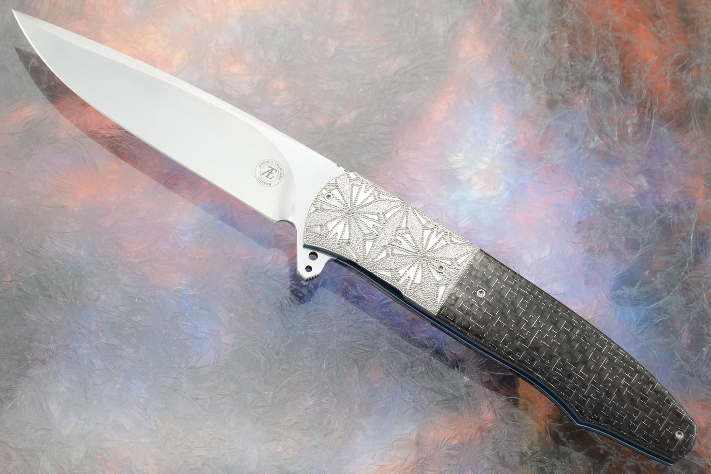 L20 Flipper with Silver Strike Carbon Fiber (Ceramic IKBS) - CTS-XHP