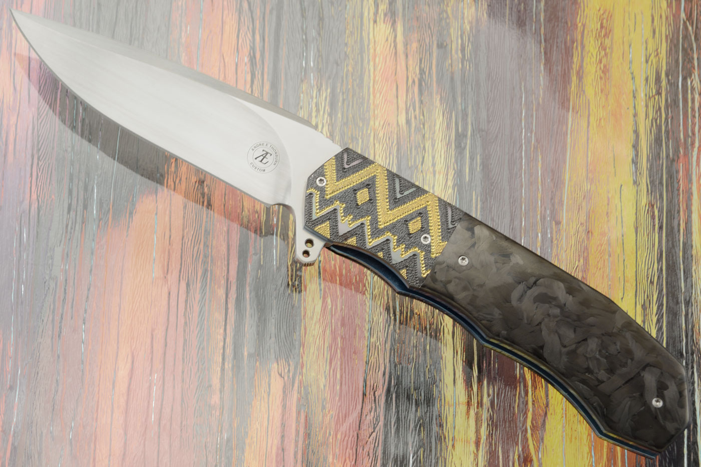 L44 Compact with Marble Carbon Fiber and Zirconium (Ceramic IKBS)