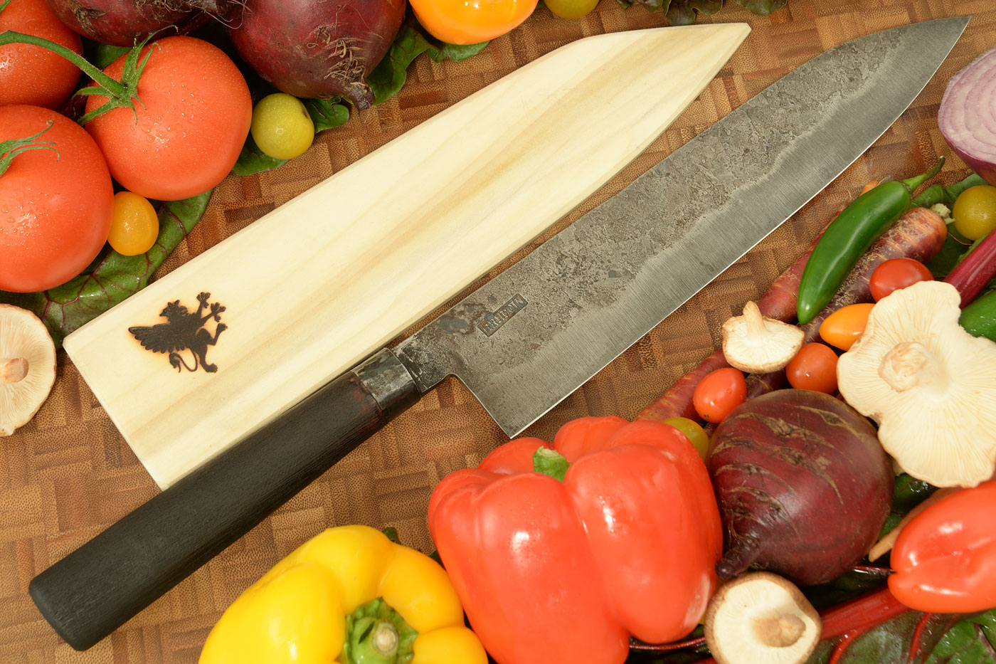 Chef's Knife (10.2 in.) with Burnt Mesquite