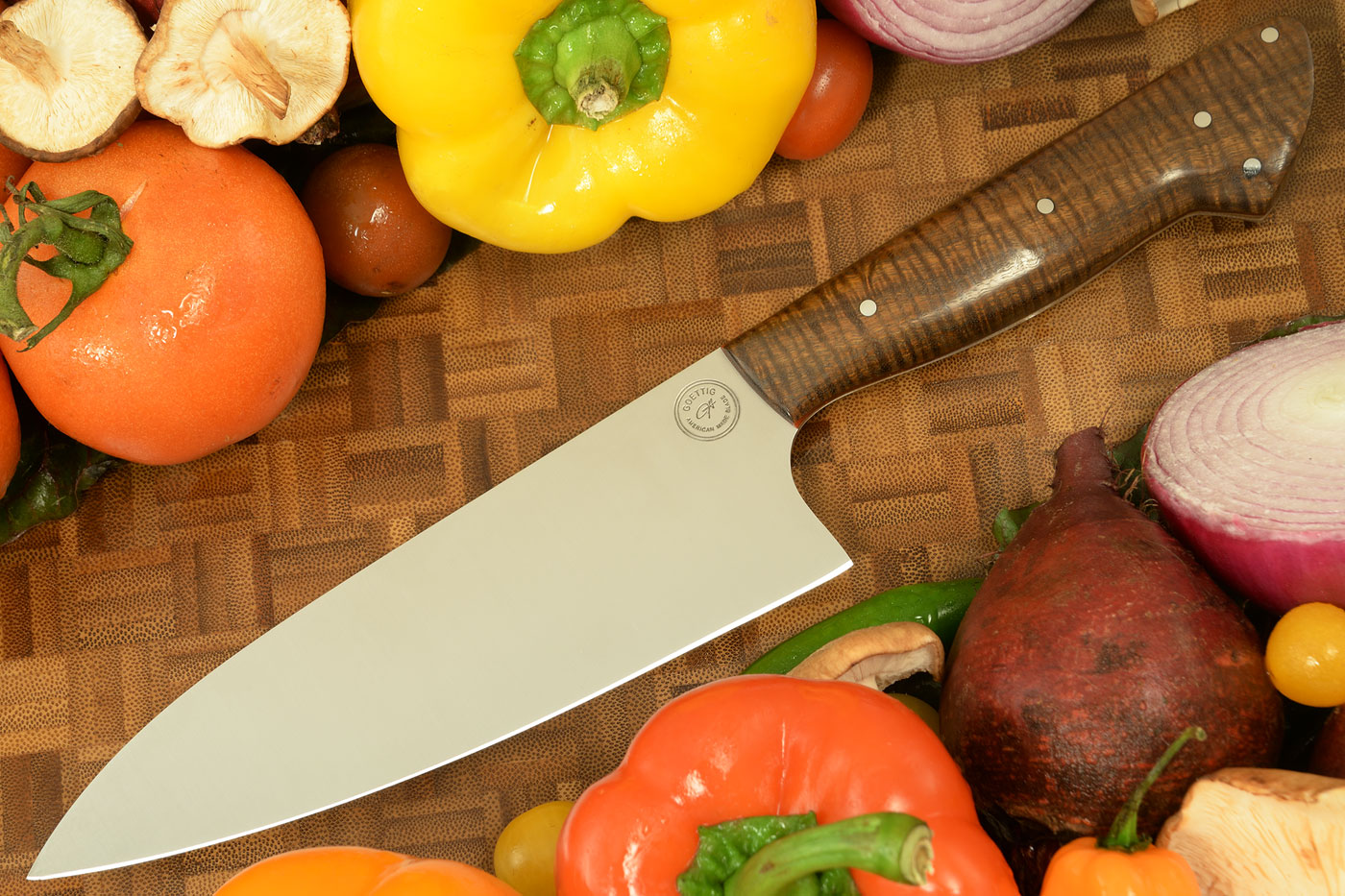 Chef's Knife (6-1/2 in.) with Ringed Gidgee
