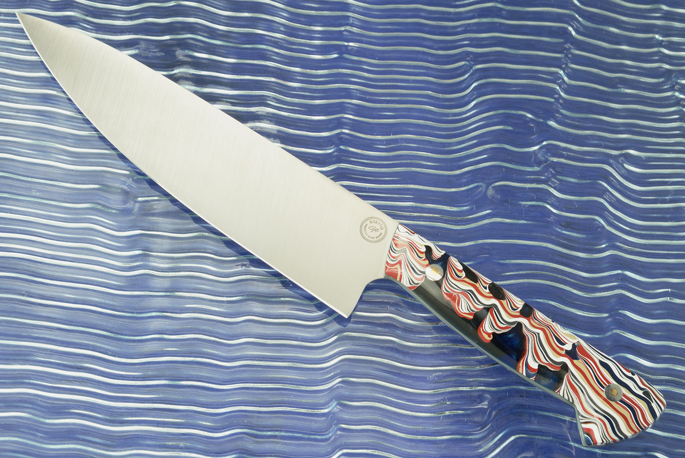 Chef's Knife (8 in.) with Fordite