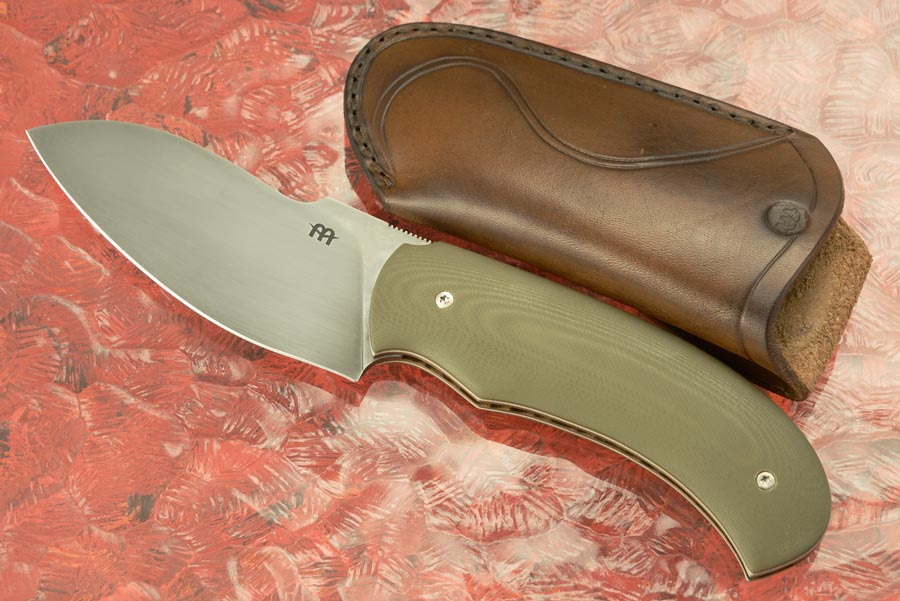 Friction Folder with Green G10