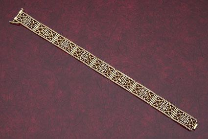 Maltese Cross Bracelet