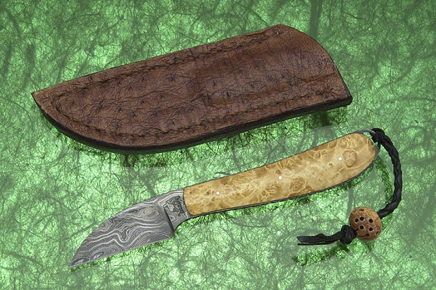 Box Elder Biltong Knife