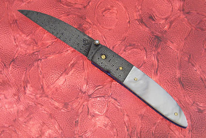 Model #2 Mother of Pearl Wharncliffe