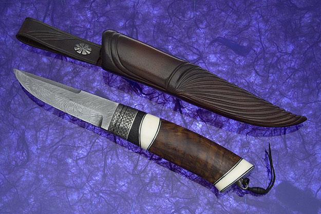 Oak Burl Swedish Hunter