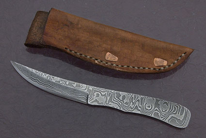 Ripple Boot Knife