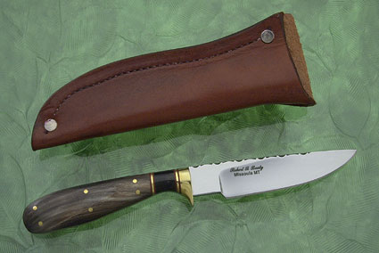 Big Horn Sheep Bird and Trout Knife