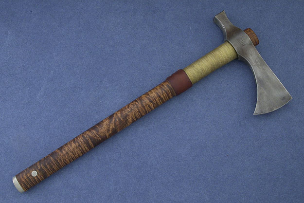 Curly Maple Tomahawk Hammer