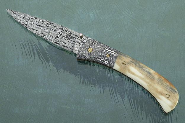 Model 9 Fossil Walrus Ivory Folder