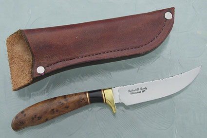 Thuya Bird and Fish Knife