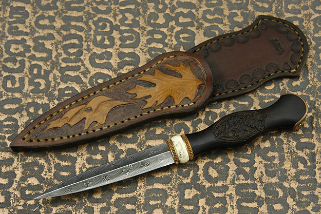 Oak Boot Dagger
