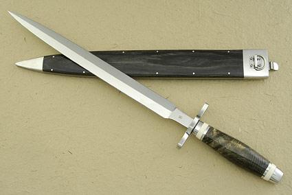BladeGallery: Fine handmade custom knives, art knives, swords, daggers