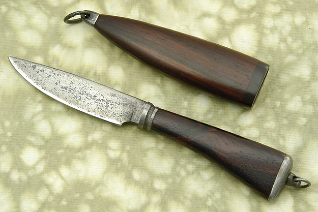 Cocobolo Neck Knife