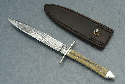 Mammoth Ivory Boot Knife