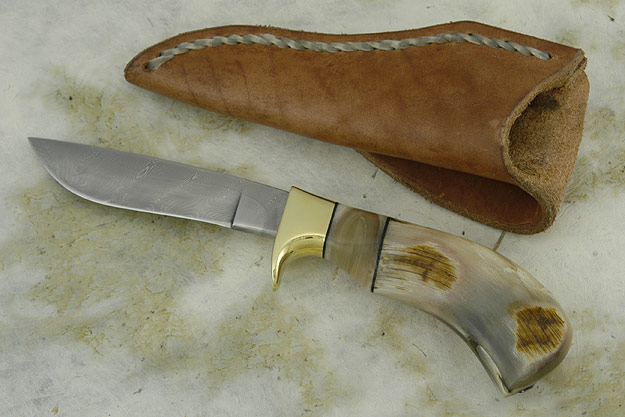 Sheephorn and Damascus Pronghorn (4 1/8