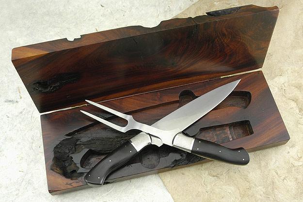 Rustic Carving Set