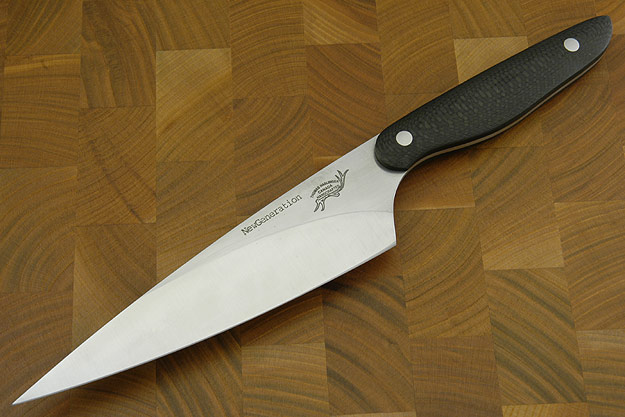 HCK Chef's Knife with Carbon Fiber - 6 in.