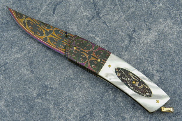 Mother of Pearl and Damascus Interframe