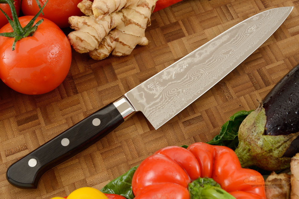 Ryusen Damascus Chef's Knife - Gyuto - 7 1/8 in. (180mm)
