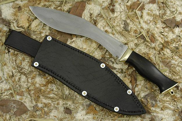 Hand Forged Blackwood Khukri
