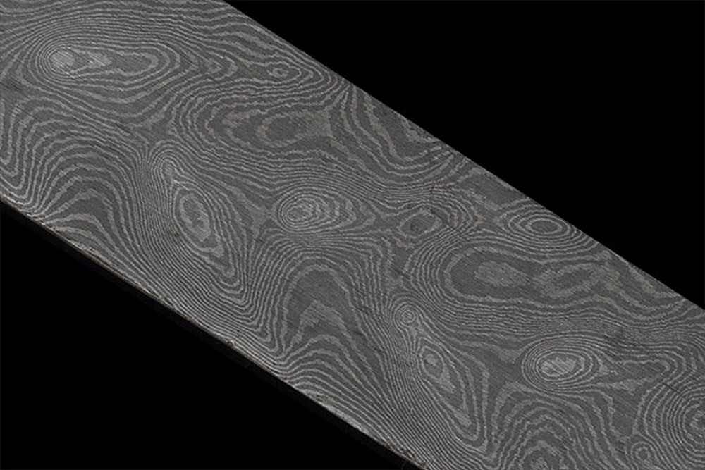 Damascus Bar - Peacock, 120 Layer (18 1/8 in. x 1.42 in. x .2 in.)