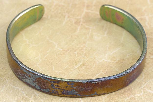 Titanium Damascus Bracelet