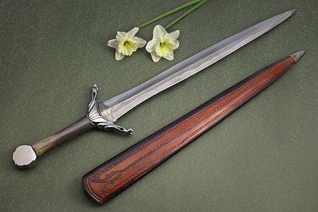 Damascus Scandinavian Sword