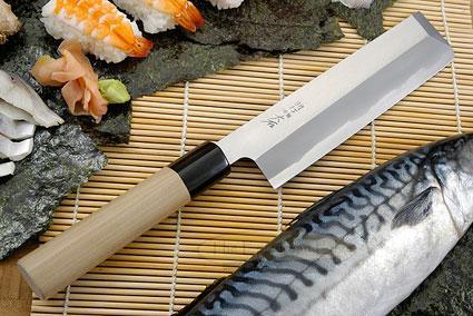 Hon Kasumi Right-Handed Usuba Hocho - 180mm