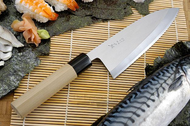 Hon Kasumi Right-Handed Deba Hocho - 180mm (7 1/8 in.)