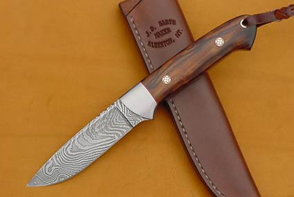 Desert Ironwood Whitetail Hunter with Gerome Weinand Zebra Damascus