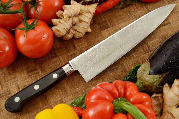 Ryusen Damascus Chef's Knife - Gyuto - 9 1/2 in. (240mm)