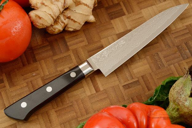 Ryusen Damascus Utility - Fruit Knife - 5 1/4 in. (135mm)
