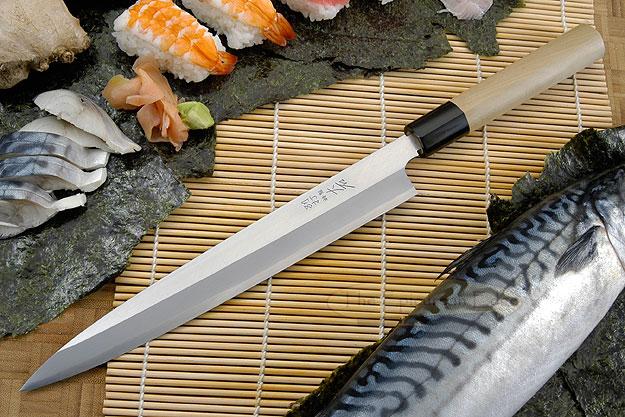 Hon Kasumi Left-Handed Sashimi Hocho - 240mm