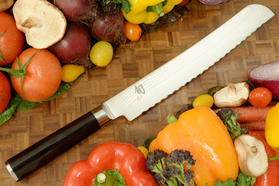 Shun Classic Bread Knife - 9 in. (DM0705)