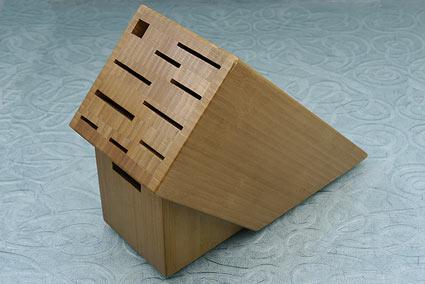 Knife Block, 11 slot, Bamboo  (BambooBO)