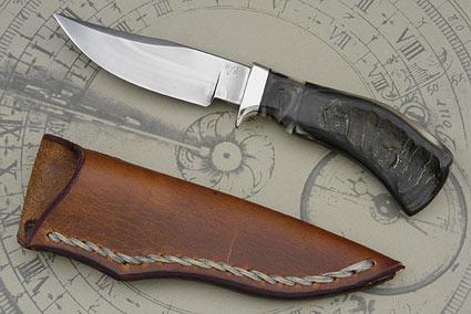Blackhorn Clip Point Pronghorn Hunter (4 1/4