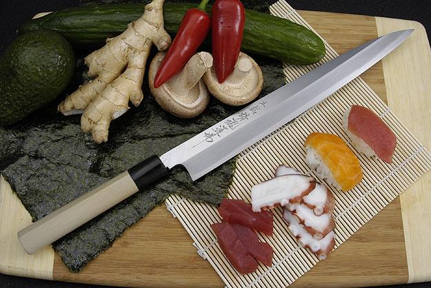 Hontan Seikon Dojo Professional Right-Handed Sashimi Hocho - 300mm