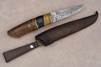 Mammoth and Birch Root Puukko