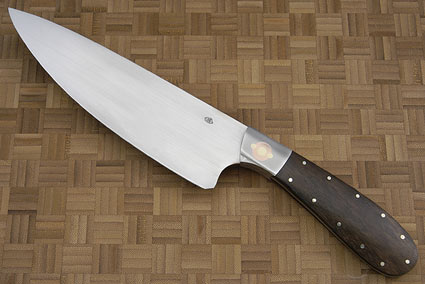 Three Suns Chef Knife with Zircote (7 1/2 in)