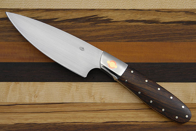 Three Suns Chef Knife with Desert Ironwood (4 1/2 in.)