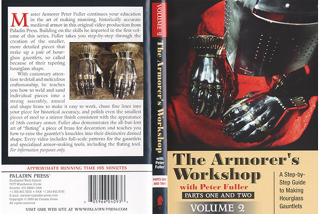 Armorer's Workshop : A Step-by Step Guide to Making Hourglass Gauntlets (DVD-R) by Peter Fuller