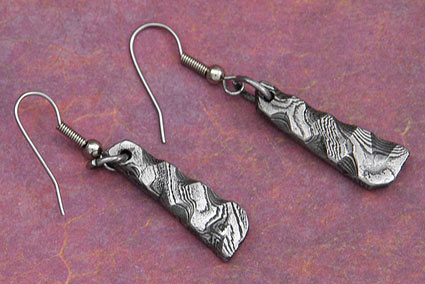 Wave Form Earrings