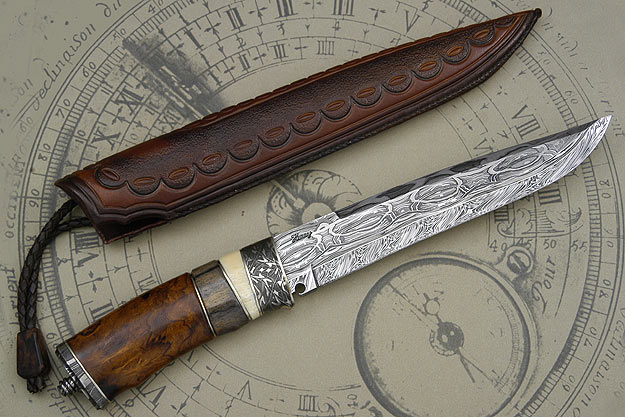 Swedish Bowie with Ironwood and Walrus
