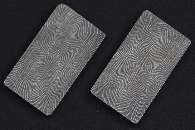 Finger Print Bolster Set