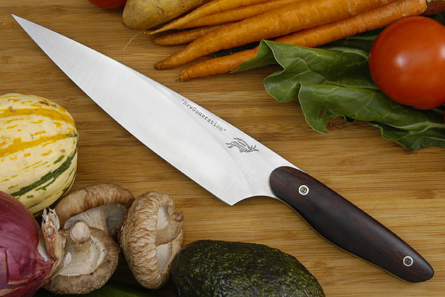 HCK Chef's Knife with Desert Ironwood - 8 in.