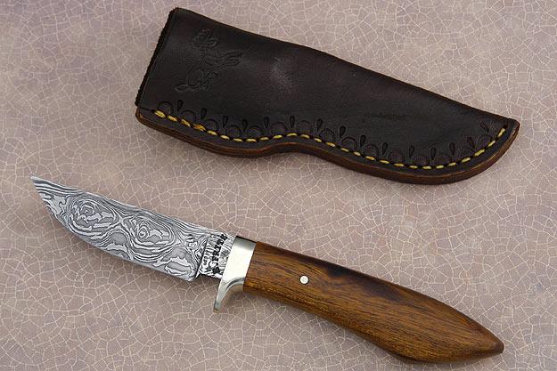 Ironwood and Damascus Hunter