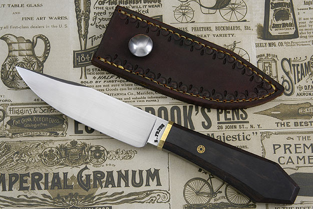 Blackwood Coffin Handled Gent's Bowie